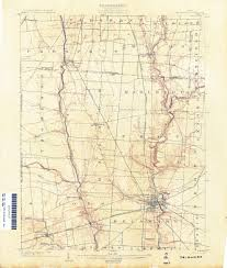Delaware County Map Ohio Historical Topographic Maps Perry Castañeda Map Collection