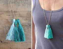 diy necklace images Alice and lois10 minute diy tassel necklace jpg
