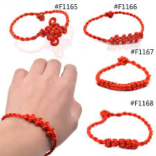 bracelet braid thread images Lychee 1 piece chinese style chinese knot decorative handmade red jpg