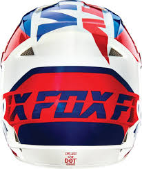 motocross helmet clearance 108 70 fox racing v1 mako dot helmet 234747