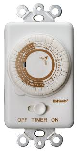 Intermatic 24 Hr Outdoor Timer by Woods 59745wd In Wall 24 Hour Mechanical Timer Converts Wall
