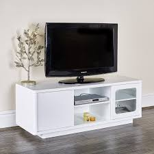 Glass Tv Cabinets With Doors by Abreo Tv Unit Cabinet Entertainment Stand With Shelves Sliding
