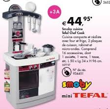 cuisine tefal chef dreamland promotie smoby cuisine tefal chef cook smoby keukens