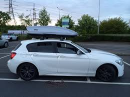 bmw 1 series roof bars roof bars for m235i updated all fitted now
