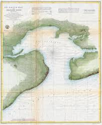 Map Of Gulf Coast File 1857 U S Coast Survey Map Of St Louis Bay And Shieldsboro