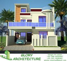 16 10 marla home front design 3d front elevation com 1