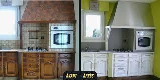 repeindre meubles cuisine repeindre meuble cuisine sans poncer usaginoheya maison
