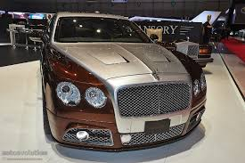 mansory bentley mulsanne mansory presents tuning kit for bentley flying spur in geneva