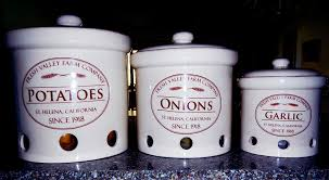 kitchen storage canisters term kitchen storage of potatoes onions garlic unl food