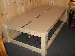 Cabin Bed Frame Raised Cabin Bed Frame With Space