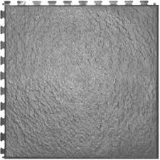 ittile slate light grey 20 in x 20 in vinyl tile