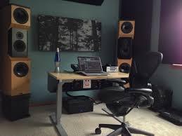 Studio Monitor Desk by The Desk Job