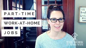 work from home part time earn money in your free time