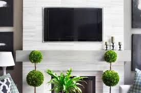 make a modern floating wood mantel hgtv