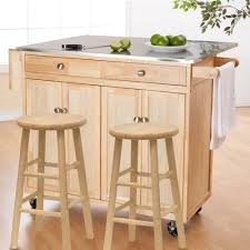 moving kitchen island easy to move and work on modern kitchen