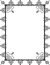 Free Halloween Border Paper by Fancy Page Border Free Download Clip Art Free Clip Art On