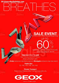 18 23 mar 2014 geox breathes clearance sale event for shoes sg