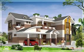 nice houses brown and white exteriour painted kerala homes google