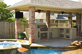kitchen patio ideas patio ideas see how to incorporate not only a grill but also