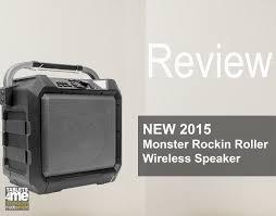 new 2015 monster rockin roller wireless speaker for outdoor use