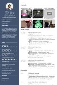 curriculum vitae template journalist shooting hoax proof of employment video editor resume sles visualcv resume sles database