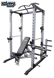 Weight Bench Package Power Rack Squat Cage Fid Bench Pull Up Bar Heavy Duty Rated To