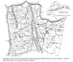 Virginia County Maps by Stoy Family Genealogy Loudoun County