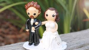 Halloween Wedding Cake Toppers Wedding Cake Topper Polymer Clay Process Video Youtube