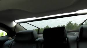 2012 hyundai azera power sun shade youtube