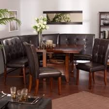 Dining Room Booth by Corner Bench Dining Table Set Foter