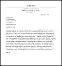 substitute cover letter 28 images 30 best cover letter for