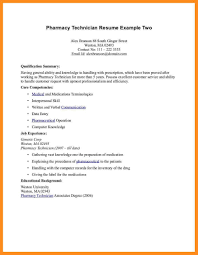 Technician Resume Examples Pharmacy Technician Resume Template Twhois Resume