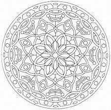 adults geometric kaleidoscope coloring pages kaleidoscope