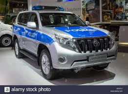 land cruiser toyota 2016 hannover germany sep 21 2016 german police toyota land