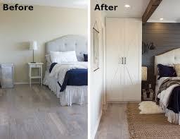 bedroom before and after bedroom makeover a builder grade room gets cozy bob vila