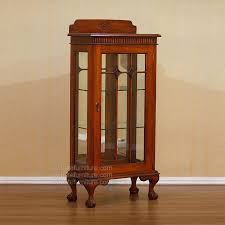 Small Glass Curio Cabinets Small Curio Cabinets With Glass Doors