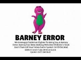 barney error simulator download