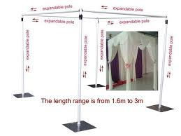 wedding backdrop using pvc pipe wedding square canopy chuppah arbor drape stand wedding decoration