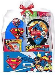 pre made easter baskets for kids pre made easter basket for boys superman headphones easter gift
