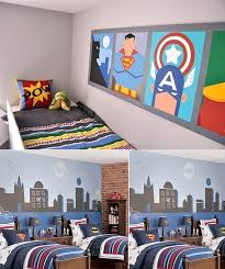 Wall Mural Inspiration  Ideas For Little Boys Rooms Room - Design ideas for boys bedroom