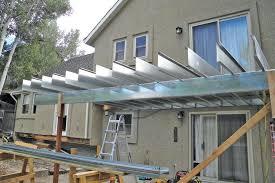 framing decks with steel joists professional deck builder