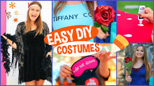 5 diy last minute halloween costumes youtube
