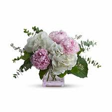 same day flower delivery pretty in peonies bouquet at send flowers