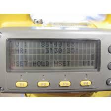 used topcon gts 203 10