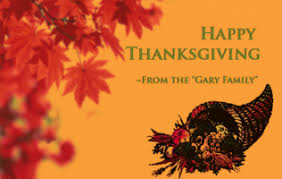 senior management thanksgiving message
