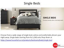 Furniture Online Modern by Buy Modern Bed Furniture Online In India At Housefull Co In