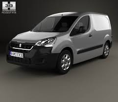 peugeot car 2015 peugeot partner van 2015 3d model hum3d