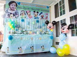 baby birthday ideas baby mickey mouse birthday party ideas photo 2 of 40 catch my