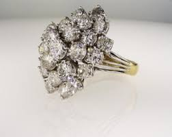 big wedding rings big ring etsy