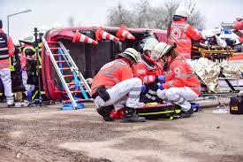 Drk Bad Kreuznach Alarmübung In Fürfeld Schwerer Verkehrsunfall Freiwillige
